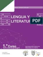 1ro Lengua y Literatura BG Minedu