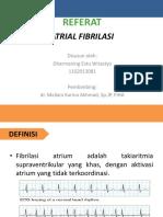 Ppt Atrial Fibrilasi