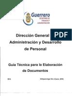 Guía Técnica para elaboración de documentos
