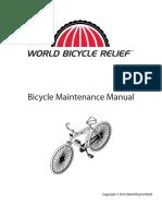 Wbr Bicycle Maintenance Manual