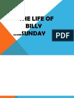 Billy Sunday Biography