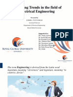 Emerging Trends in Electrical Engineering