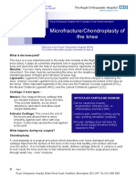 211Microfracture Chondroplasty of the knee v2.pdf