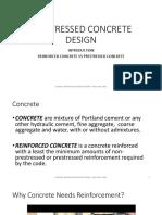 Prestressed Concrete Intro