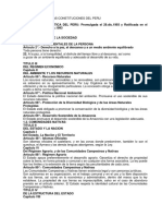 Comparacion de Las Constituciones Del Peru