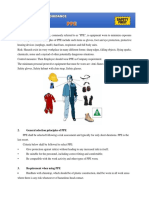 Handout Material - PPE