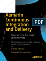 Xamarin Continuous Integration and Delivery_ Team Services. Test Cloud, and HockeyApp_ Optimizing Your mobile software development process.pdf
