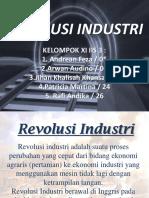Revolusi Industri Egalite Xi Iis 33