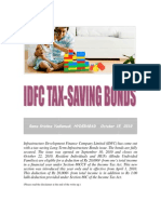 IDFC Tax-Saving Bonds-VRK100-15102010