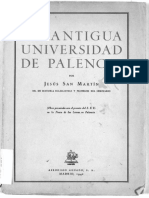 La Antigua Universidad de Palencia - Jesús San Martín