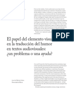 11. El Papel Del Elemento Visual en La Traducción Del Humor
