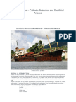 Ship Corrosion – Cathodic Protection and Sacrificial Anodes