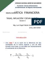 MATEMÁTICA FINANCIERA - Tasas