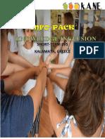 Info Pack - Short-term