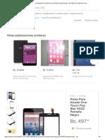 Pieza Para Alcatel One Touch Pop Star 5022 Pantalla Negro - Bs. 497,34 en Mercado Libre