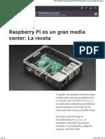 Raspberry Pi es un gran media center- La receta.pdf