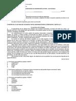 8° Lenguaje - Comprensión Lectora 2 - FORMA A