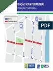 Mapa - Circulação Temporária Madalena