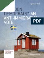 """""""SWEDEN DEMOCRATS"""""""