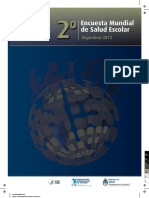 Informe-EMSE-2012 Encuesta Mundial de Salud Escolar