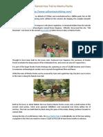 Salkantay Trek - The Best Way to Enjoy Machu Picchu