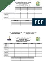 Horario General Idiomas 2019-1 Vacío