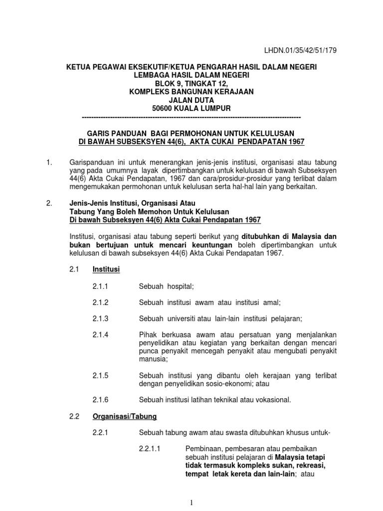 1464817911 - Contoh Surat Rasmi Sokongan Ketua Kampung