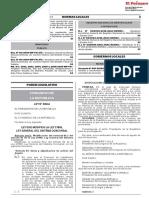 Ley que modifica la Ley 27809 Ley General del Sistema Concursal