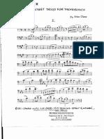 Chase Eight Trios for 3 Trombones - 2 Basun