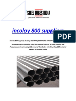 incoloy 800 suppliers
