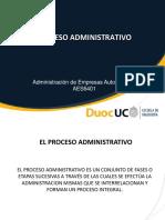 Proceso Administrativo list