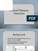 Infrared Distance Detection