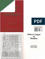 Hebrew Gospel of MATTHEW by George Howard - Part One