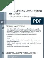 Menentukan Letak Tumor Abdomen.pptx