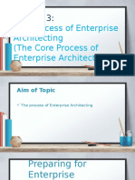 T5-The Core Process of Enterprise Architecture (1)