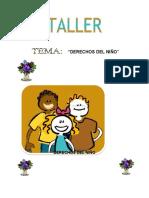 TALLER DERECHOS DEL NIÑO