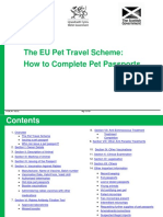 How to Complete Pet Passports
