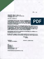McDermott Letter re