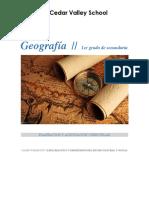 Planeación Geografía I Secundaria