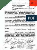 Manual de Procedimientos Para La Provisión de Fondos y Descargo de Gastos de Viaje en Misión Oficial, Pasajes en Misión Oficial - Pasajes y Viaticos