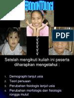 Geriodontologi 1