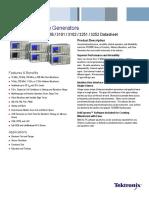 AFG3000 Series Arbitrary-Function Generators Datasheet 76W-18656-5