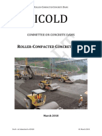 ICOLD - Roller Compacted Concrete Dams - DRAFT