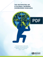 WHO Estimates of the Global Burden of Foodborne Diseases-Foodborne diseases burden epidemiology reference group 2007-2015