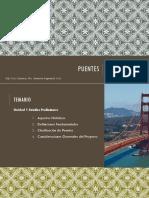 Estudios Preliminares de Un Puente