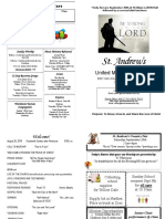St Andrews Bulletin 082618