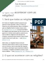 O Que Vai Acontecer Com as Religiões_ _ Boas Notícias