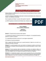 Oaxaca Codigo de Procedimientos Civiles (Reformado)
