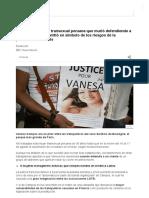 Vanesa Campos, La Transexual Peruana Que Murió Defendiendo a Un Cliente y Se Convirtió en Símbolo de Los Riesgos de La Prostitución en París - BBC News Mundo