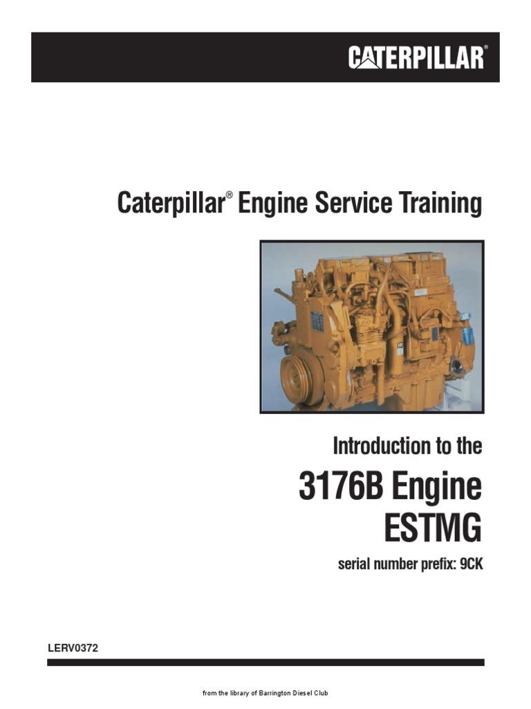 Cat 3176b 9ck 3196 Service Training Pdf Diesel Engine Fuel Injection